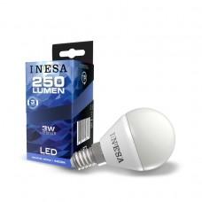 LED žiarovka E14 3W 160° 4000K