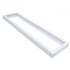 LED panel montážny rám biela 1200x300 mm