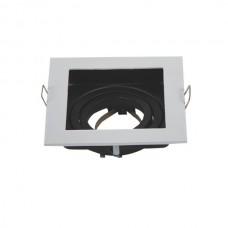 Stropné bodové podhľadové svietidlo (biele)