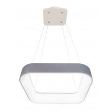 LED závesné svietidlo NEST 40W, 2600lm s diaľkovým ovládačom šedá